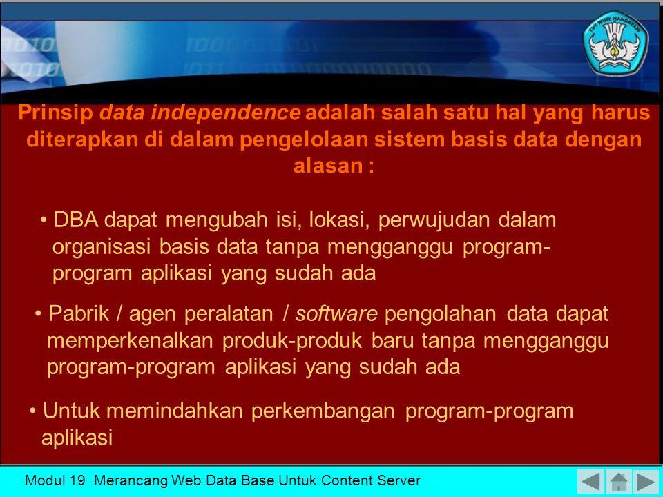 Modul 19 Merancang Web Data Base Untuk Content Server Skema Basis Data