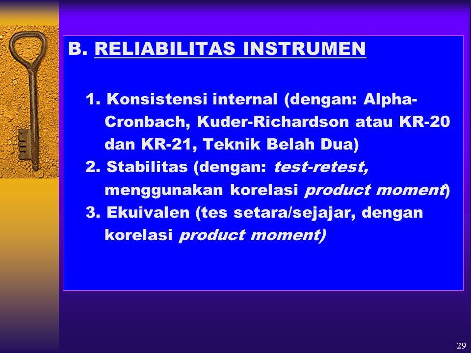 30 METODE ANALISIS DATA 1.Analisis Deskriptif (Kuantitatif & Kualitatif) 2.
