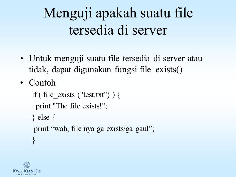 Cara mengakses library 1.Mengakses langsung path librari: a.Relatif path include_once( ../lib/alison/db/DatabaseLayer.php ); b.Absolute path include_once( /home/alison/htdocs/lib/alison/db/DatabaseLayer.php ); 2.Set path librari yang digunakan: a.Melalui php.ini include_path= .:/home/alison/php_lib:/usr/local/lib/php b.Melalui.htaccess php_value include_path /home/alison/php_lib c.Menggunakan fungsi ini_set() ini_set( include_path , /home/alison/php_lib ); d.