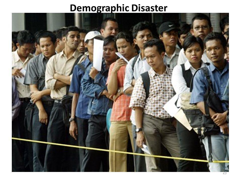 Demographic Disaster 23