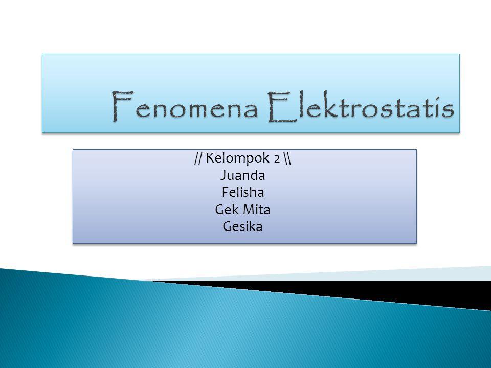 Muatan listrik adalah salah satu sifat dasar dari partikel elementer tertentu.