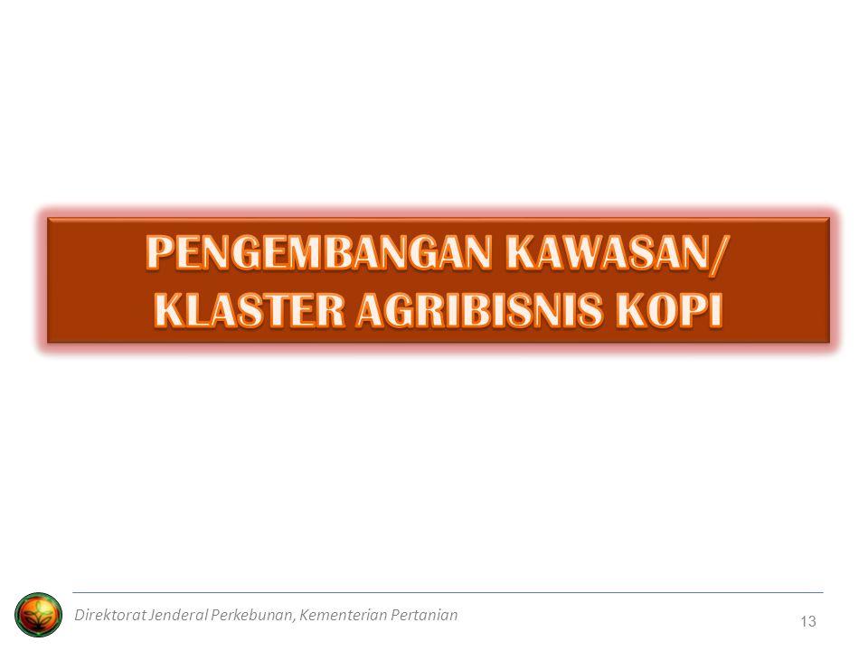 13 Direktorat Jenderal Perkebunan, Kementerian Pertanian