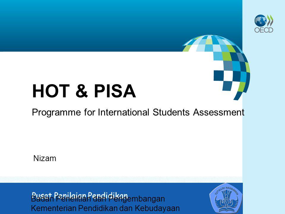 HOT & PISA Programme for International Students Assessment Nizam Badan Penelitian dan Pengembangan Kementerian Pendidikan dan Kebudayaan