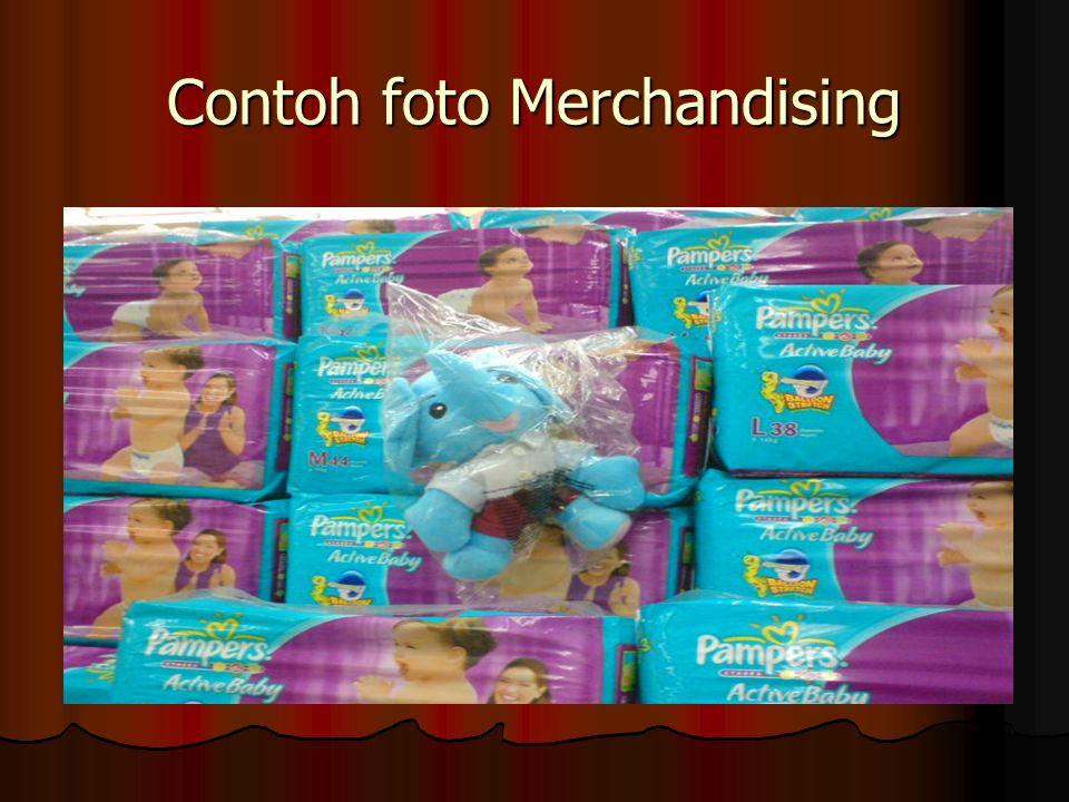 Contoh foto Merchandising
