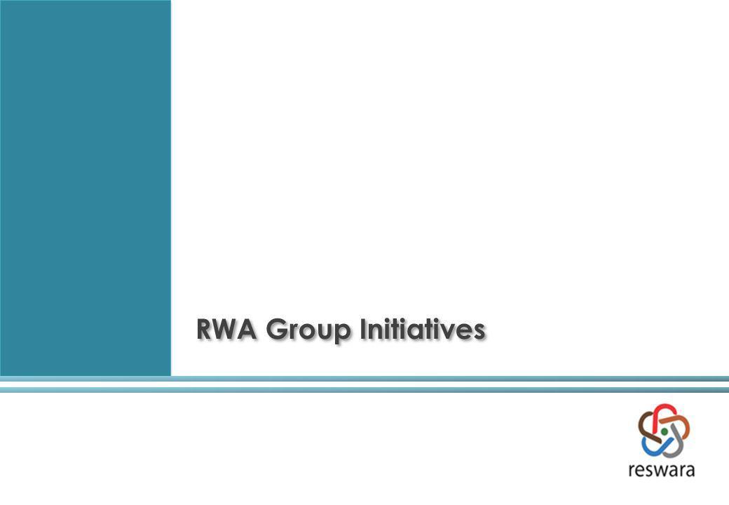 RWA Group Initiatives