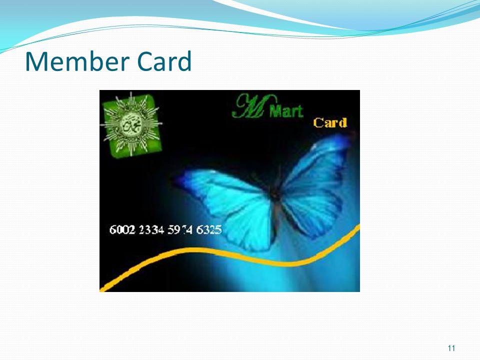 Member Card 11