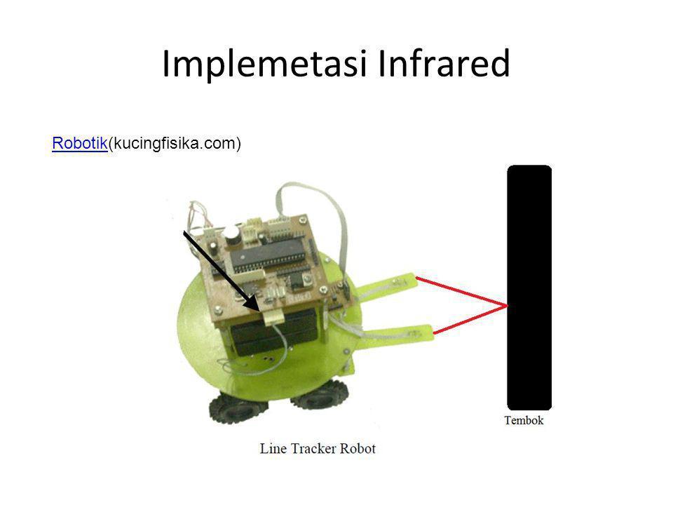 Implemetasi Infrared RobotikRobotik(kucingfisika.com)