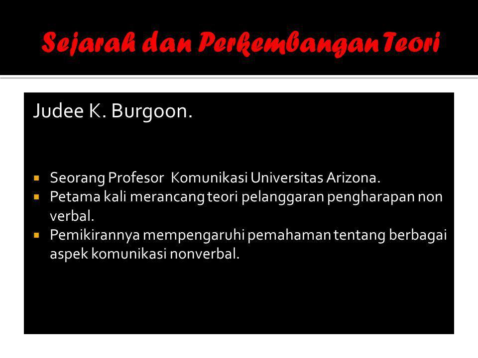 Judee K.Burgoon.  Seorang Profesor Komunikasi Universitas Arizona.