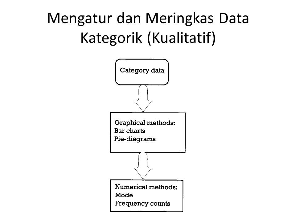 Mengatur dan Meringkas Data Kategorik (Kualitatif)