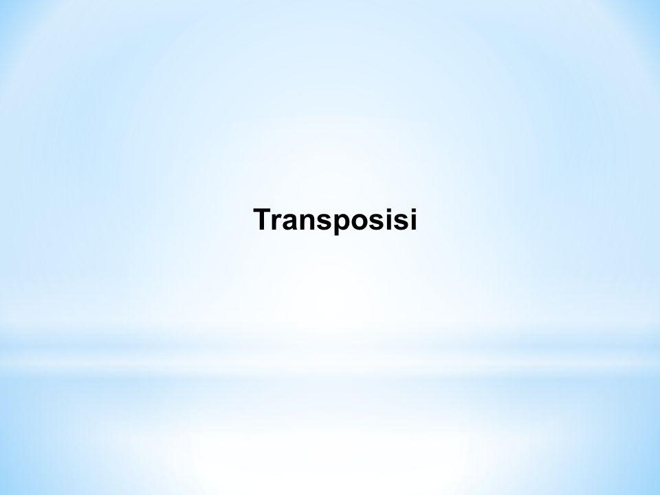 Transposisi