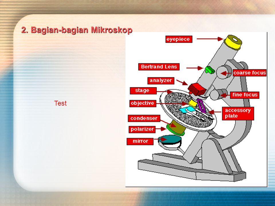 Mikroskop terdiri dari dua buah lensa positif, masing-masing disebut : a.
