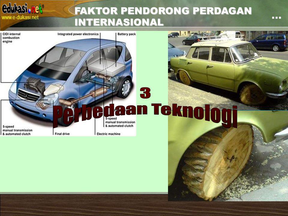 Contact: uwes@pustekkom.go.id www.e-dukasi.net uwes@pustekkom.go.id Pelatihan Penulisan Naskah Multimedia Pembelajaran Interaktif Balai Pengembangan Multimedia, Semarang, 24 Juni 2007 … FAKTOR PENDORONG PERDAGAN INTERNASIONAL