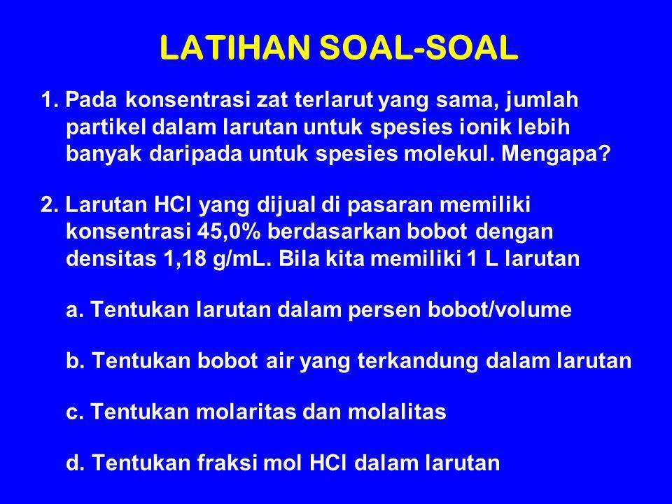 LATIHAN SOAL-SOAL 1.