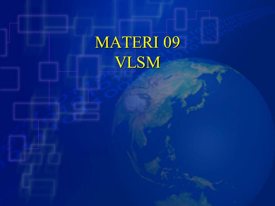 MATERI 09 VLSM