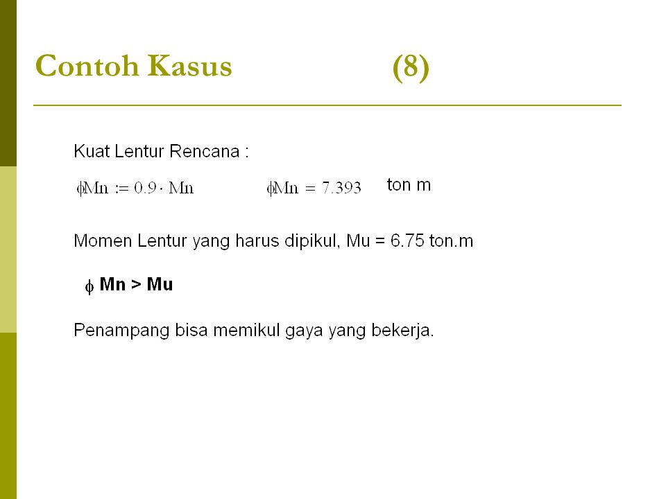 Contoh Kasus (8)