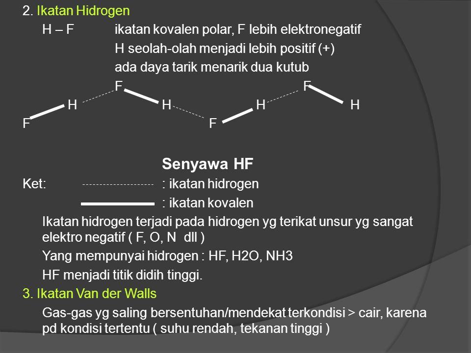 Pada ikatan logam, inti-inti atom berjarak tertentu dan beraturan sedangkan elektron yang saling dipinjamkan bergerak sangat mobil seolah-olah membent