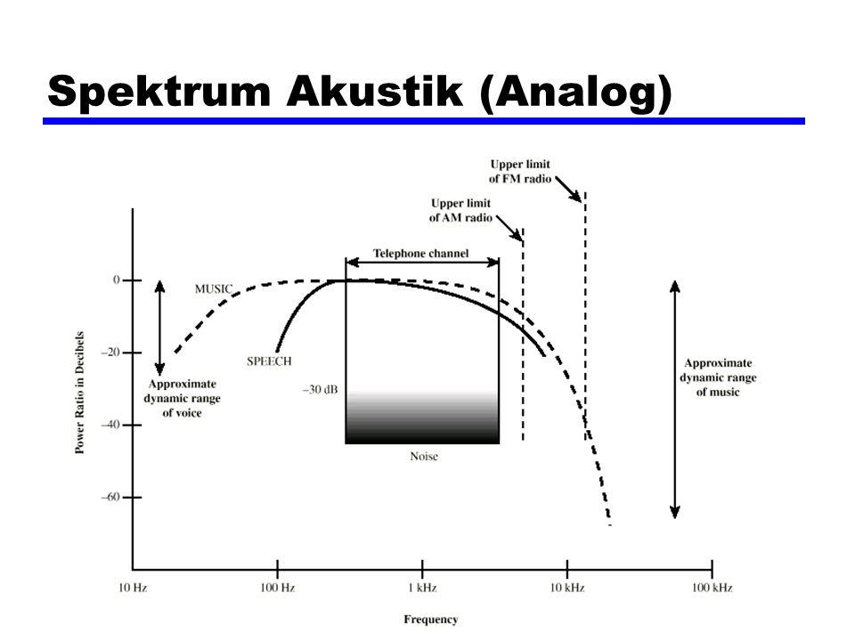 Spektrum Akustik (Analog)