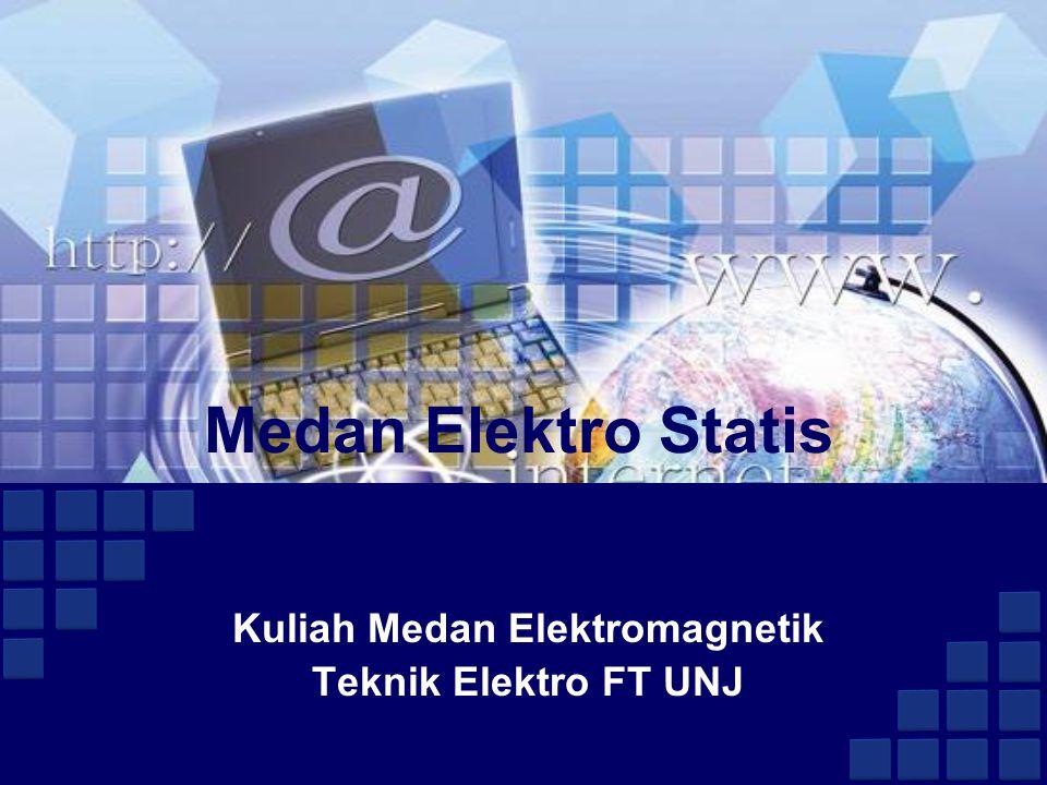 Medan Elektro Statis Kuliah Medan Elektromagnetik Teknik Elektro FT UNJ