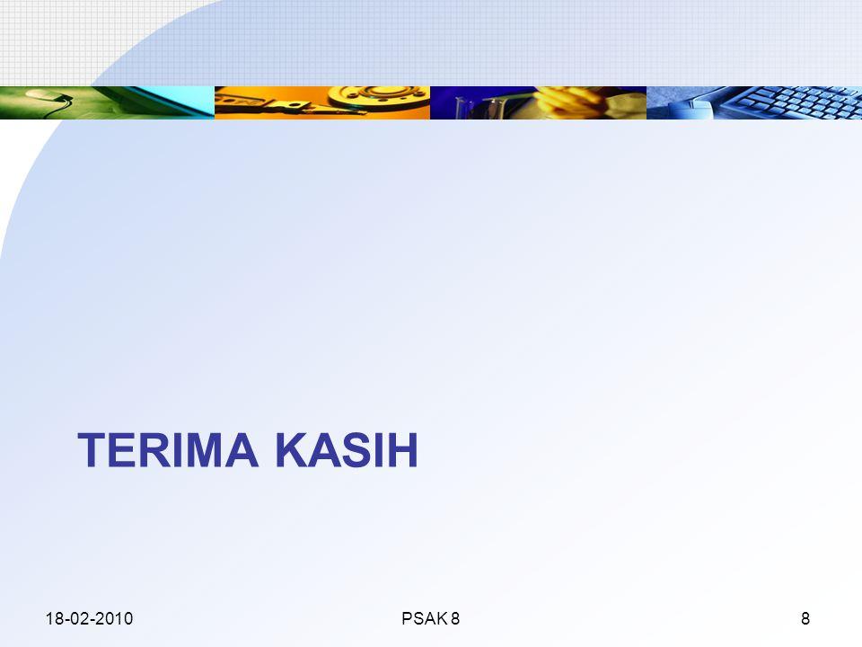 TERIMA KASIH 18-02-2010PSAK 88