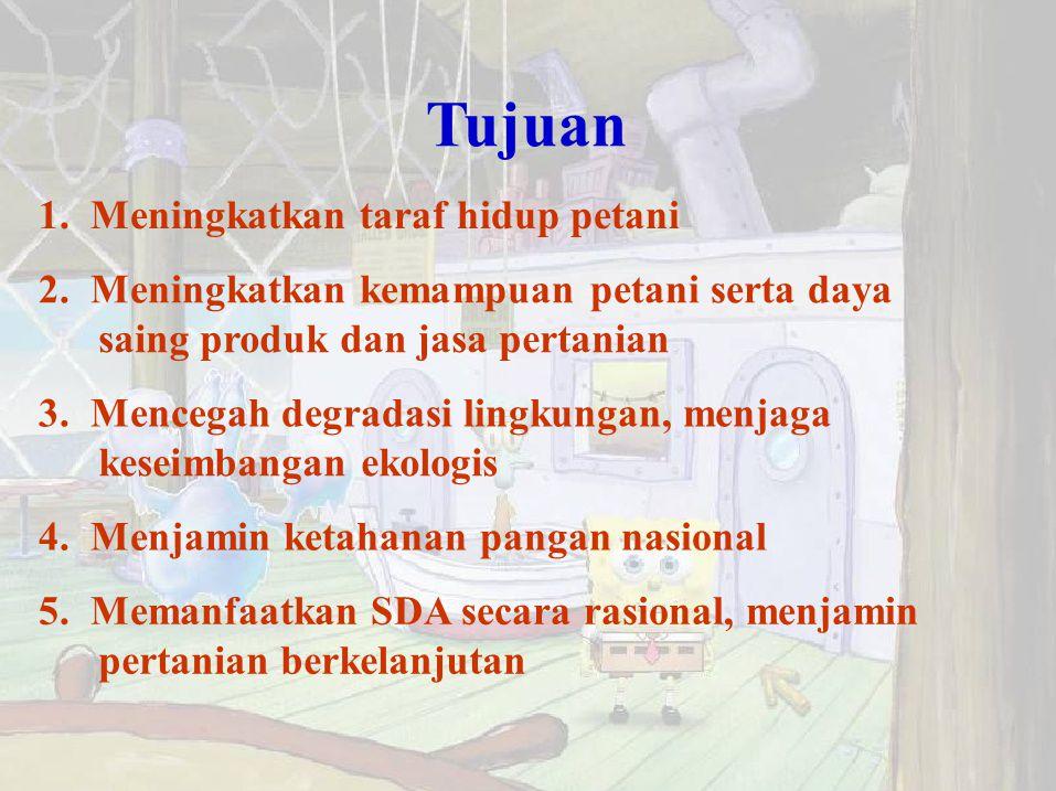 Ciri SDM pertanian Indonesia masa depan 1.