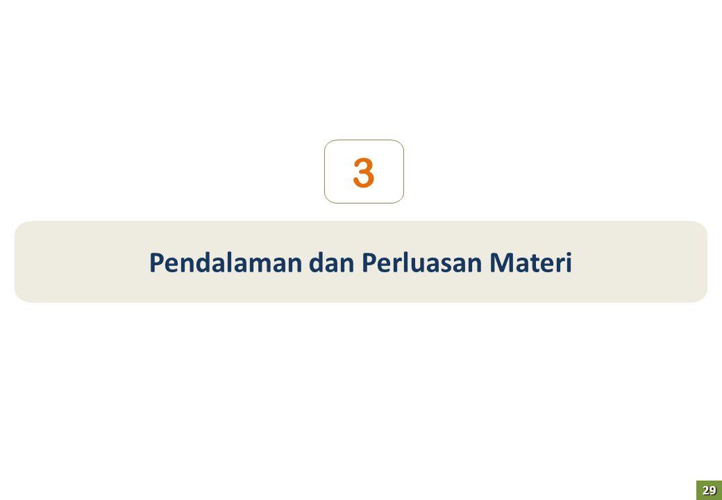 Pendalaman dan Perluasan Materi 3 29
