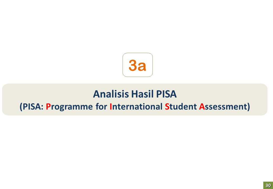 Analisis Hasil PISA (PISA: Programme for International Student Assessment) 3a 30