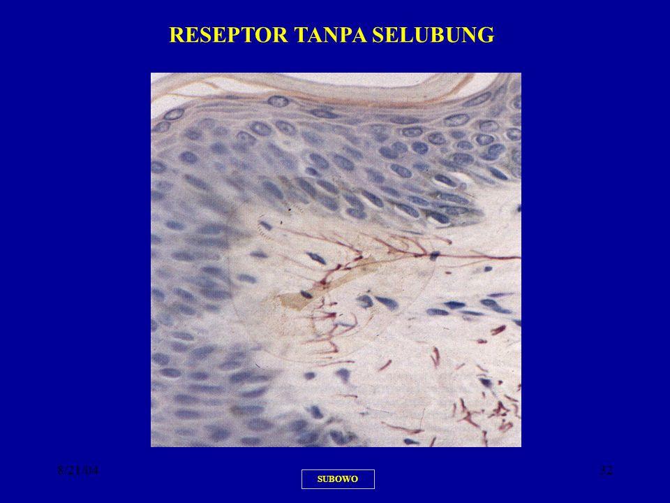 8/21/0432 SUBOWO RESEPTOR TANPA SELUBUNG