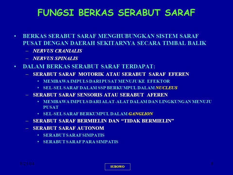 8/21/049 SERABUT SARAF SOMATIK DAN VISERAL SUBOWO
