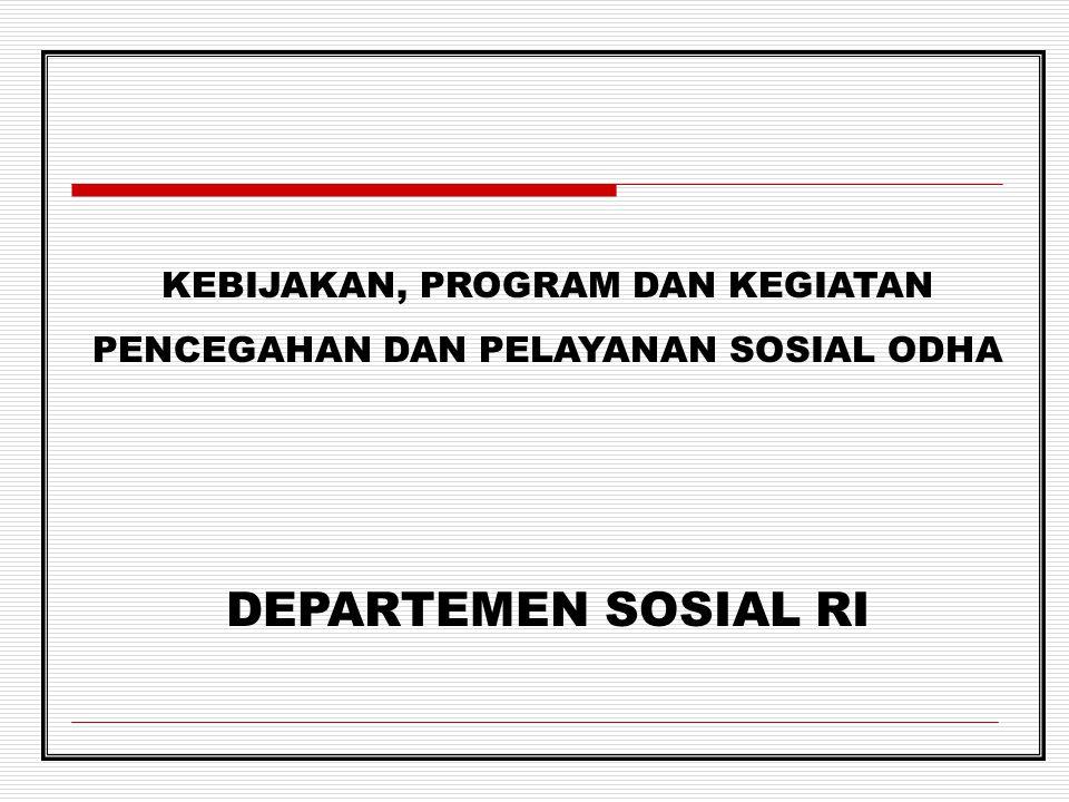 Informasi pelayanan HIV/ AIDS Direktorat PRTS, Ditjen Yanrehsos, Depsos RI Jl.