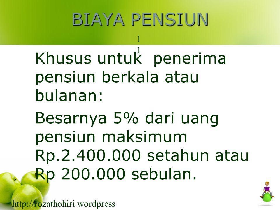 PENGHASILAN TIDAK KENA PAJAK (PTKP) 10 Menurut keadaan wajib pajak tanggal 1 Januari /awal tahun, khususnya WPDN Keadaan pada saat datang ke Indonesia