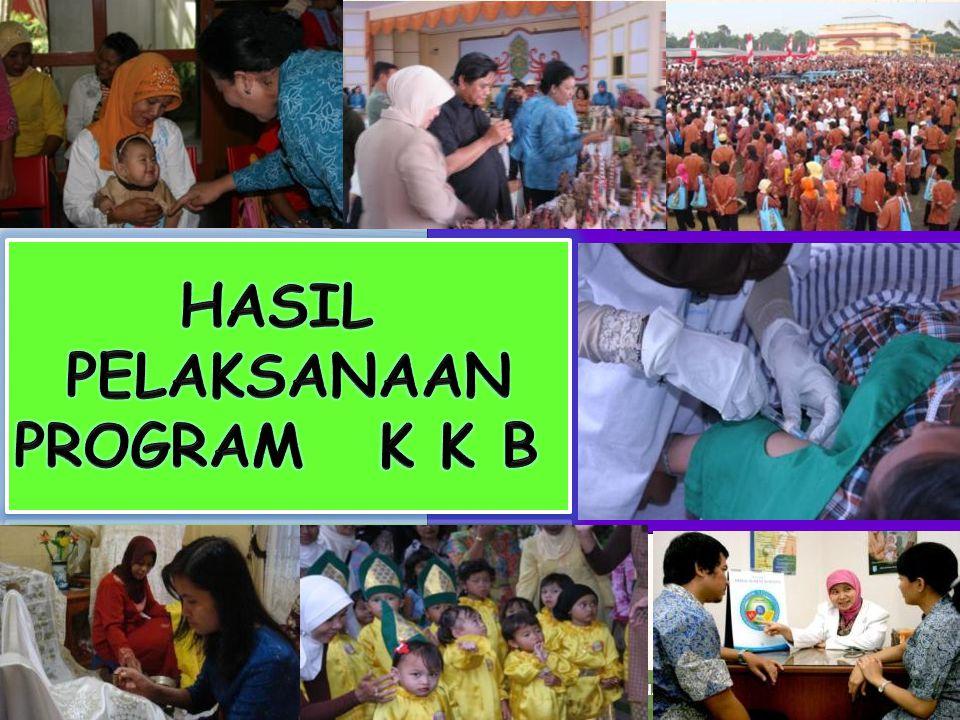 BADAN KEPENDUDUKAN DAN KELUARGA BERENCANA NASIONAL SASARAN INDIKATOR KINERJA Kabupaten Jepara TAHUN 2013 63