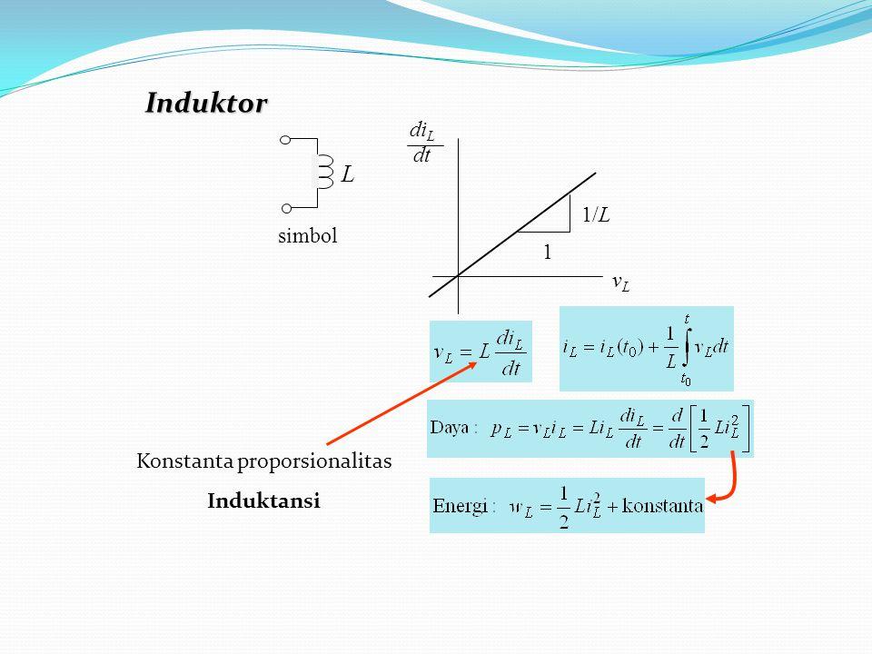 ++ 40V beban 5A beban v beban = v sumber = 40 V p beban = 100 W  v = 20 V Tegangan sumber tetap, arus sumber berubah sesuai pembebanan Sumber Tegangan p beban = 100 W  i = 2,5 A p beban = 200 W  i = 5 A Sumber Arus i beban = i sumber = 5 A Arus sumber tetap, tegangan sumber berubah sesuai pembebanan p beban = 200 W  v = 40 A CONTOH: