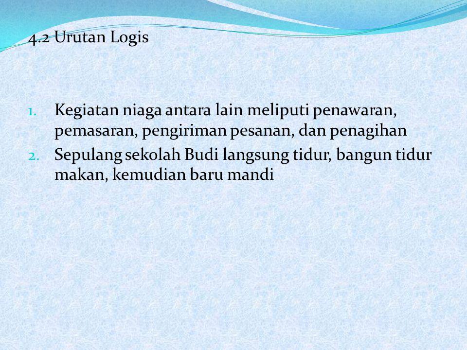 4.2 Urutan Logis 1.