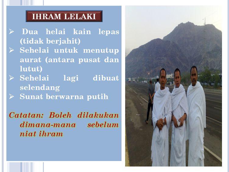 IHRAM LELAKI