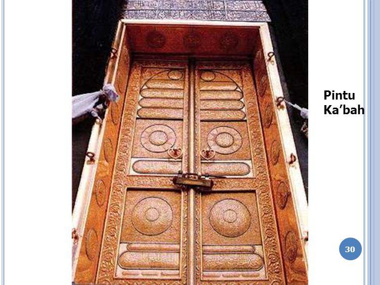 30 Pintu Ka'bah