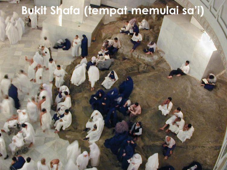 36 Bukit Shafa (tempat memulai sa'i)