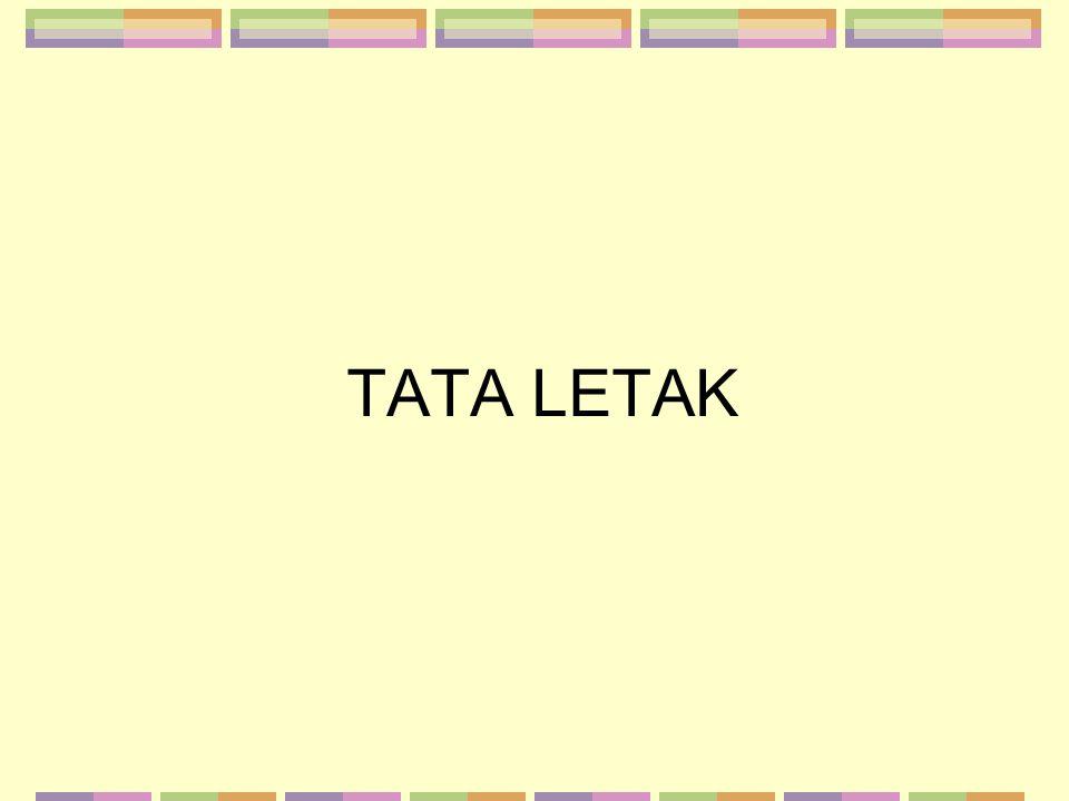 TATA LETAK