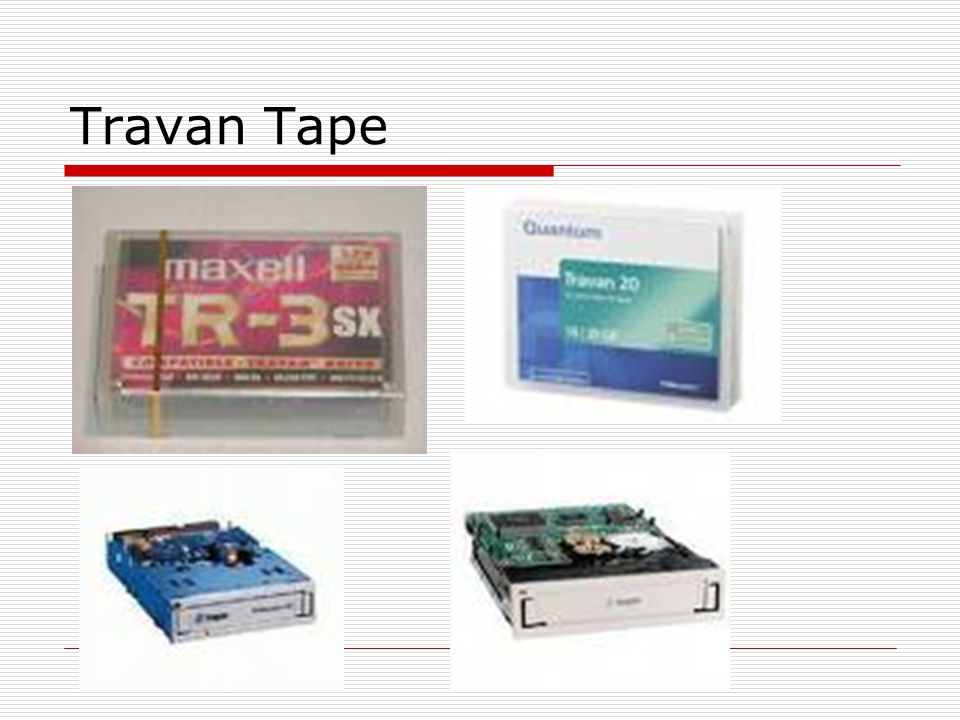 Travan Tape