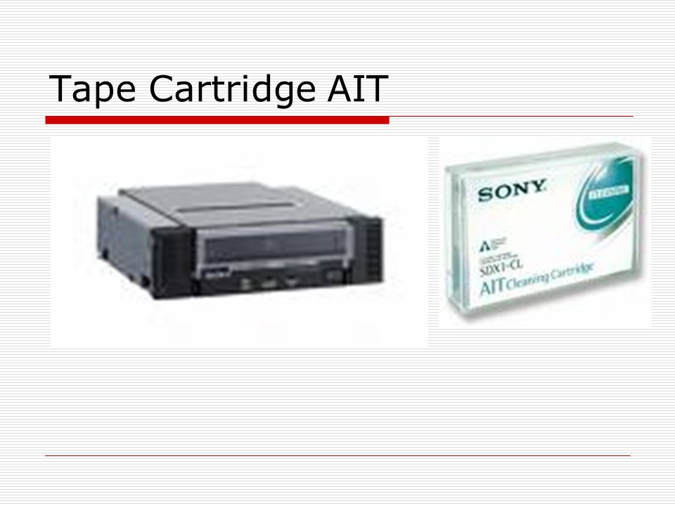Tape Cartridge AIT