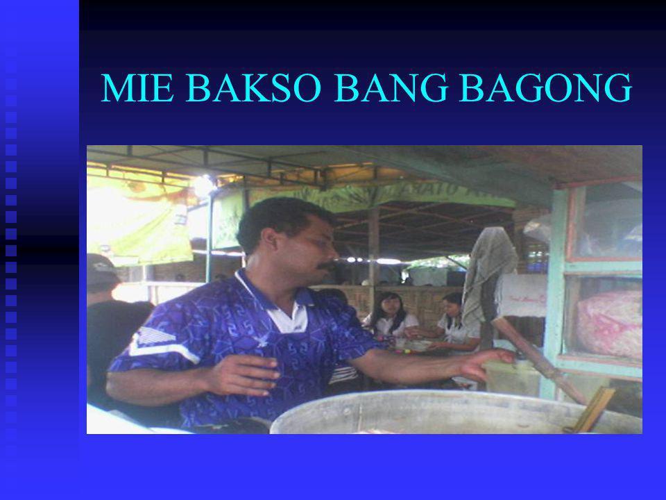 MIE BAKSO BANG BAGONG