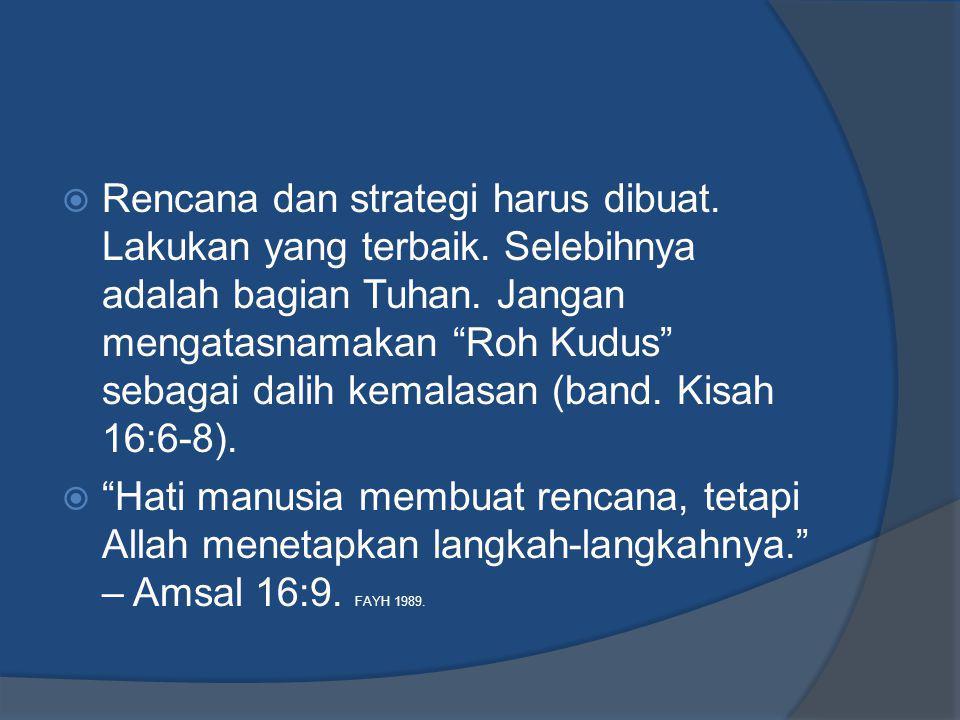 Pengelolaan Keuangan  Krisis keuangan dari saudara dalam jemaat adalah penting dan mendesak (band.