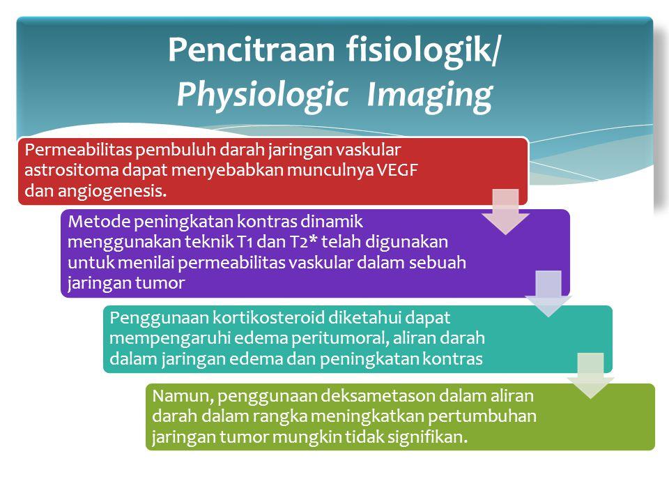 Permeabilitas pembuluh darah jaringan vaskular astrositoma dapat menyebabkan munculnya VEGF dan angiogenesis. Metode peningkatan kontras dinamik mengg