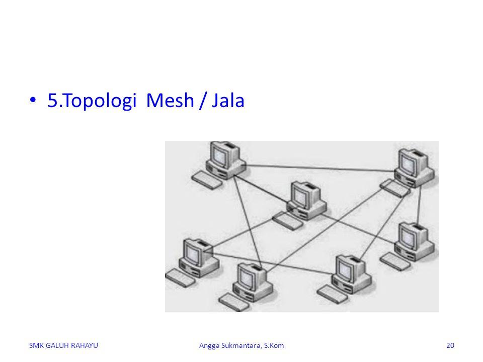 5.Topologi Mesh / Jala SMK GALUH RAHAYUAngga Sukmantara, S.Kom20