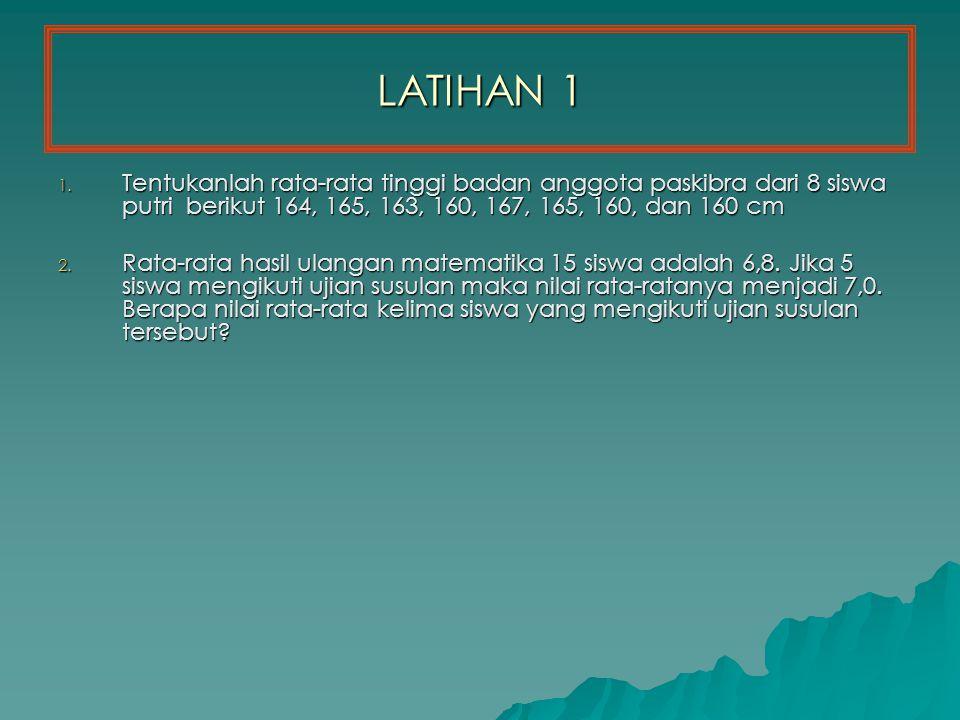 LATIHAN 1 1.
