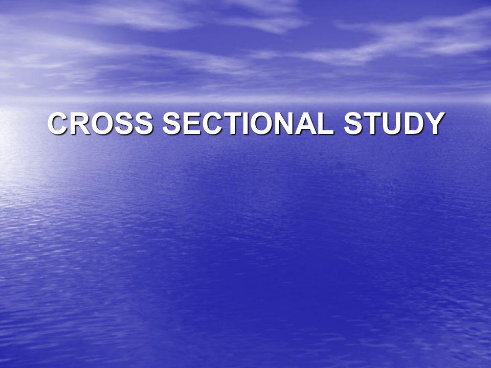 Studi Cross-Sectional Analitik Tujuan perbandingan perbedaan- perbedaan penyakit antara kelompok terpapar dan kelompk tidak terpapar Tujuan perbandingan perbedaan- perbedaan penyakit antara kelompok terpapar dan kelompk tidak terpapar Meneliti Hubungan antara paparan dan penyakit Meneliti Hubungan antara paparan dan penyakit Membandingkan proporsi orang2 terpapar mengalami penyakit (a/(a+b)) dengan proporsi orang2 tidak terpapar yg mengalami penyakit ( c/(c+d)) Membandingkan proporsi orang2 terpapar mengalami penyakit (a/(a+b)) dengan proporsi orang2 tidak terpapar yg mengalami penyakit ( c/(c+d))