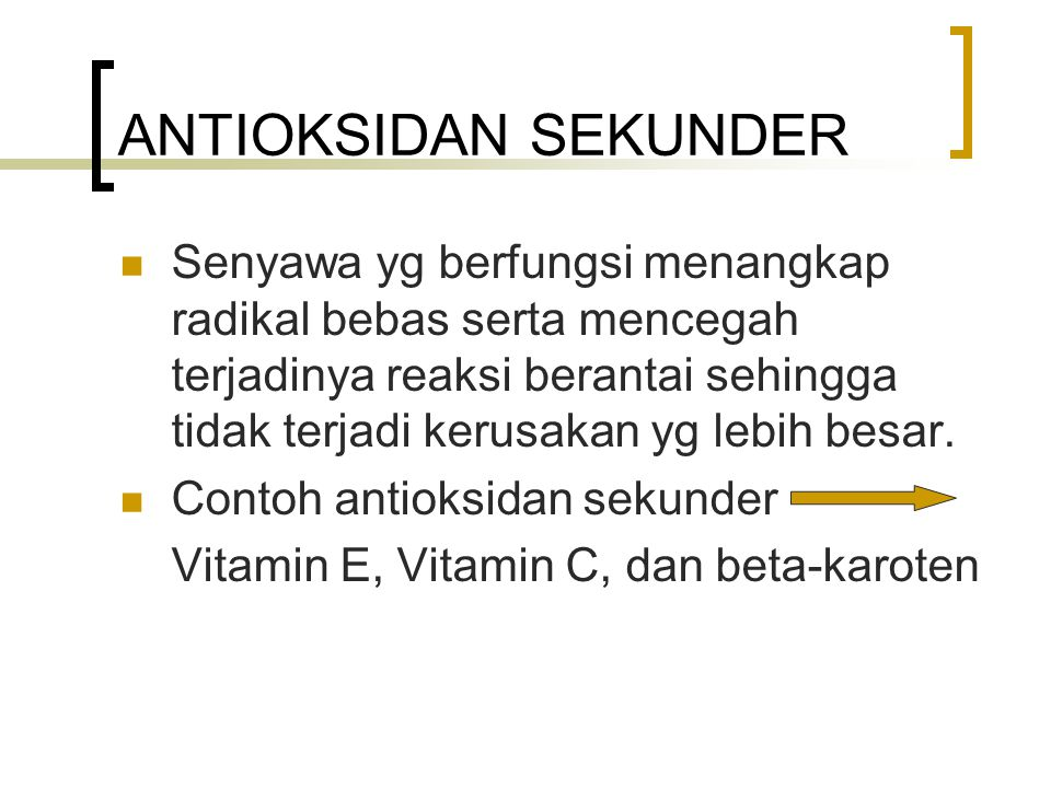 VITAMIN E Potent inhibitors of lipid peroxdation.