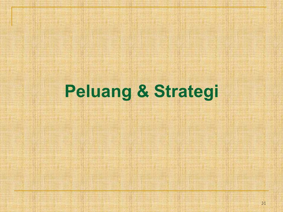 31 Peluang & Strategi