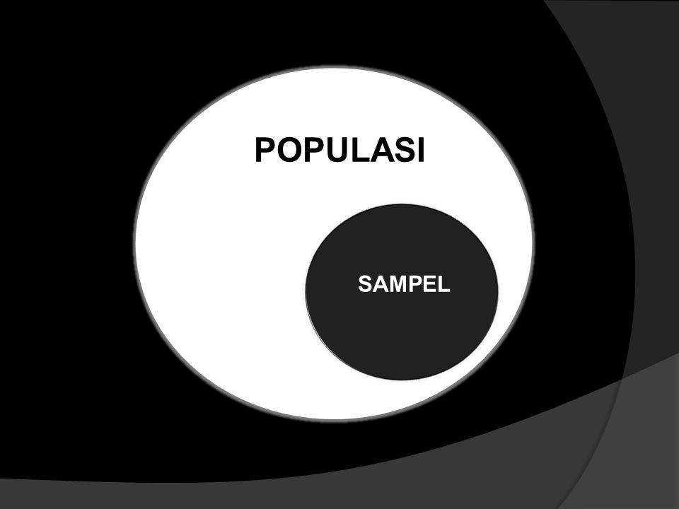 POPULASI SAMPEL