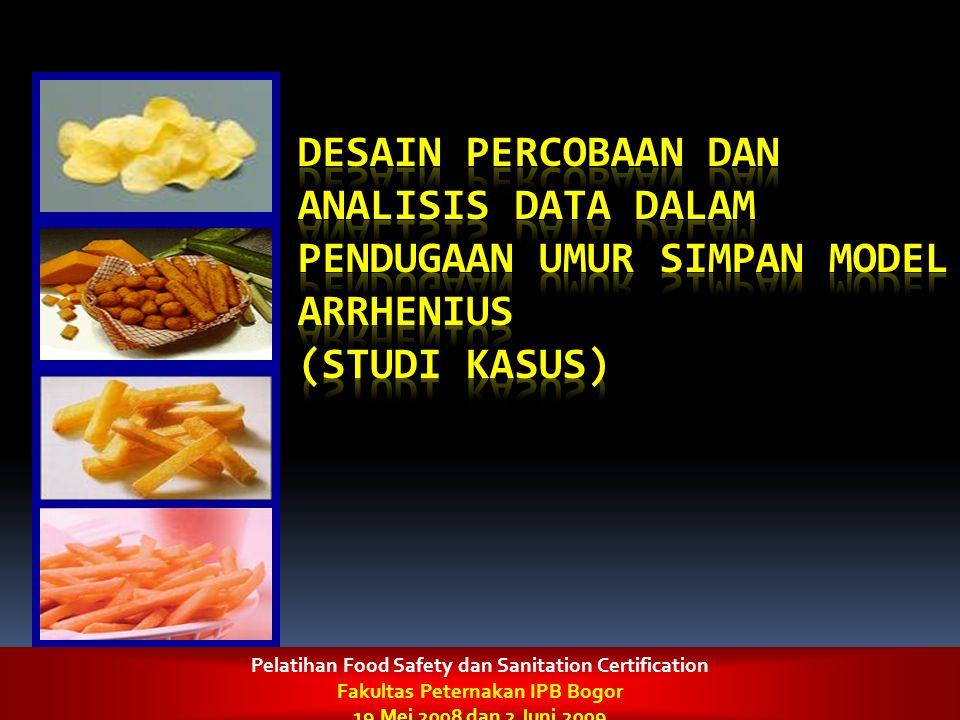 Pelatihan Food Safety dan Sanitation Certification Fakultas Peternakan IPB Bogor 19 Mei 2008 dan 2 Juni 2009