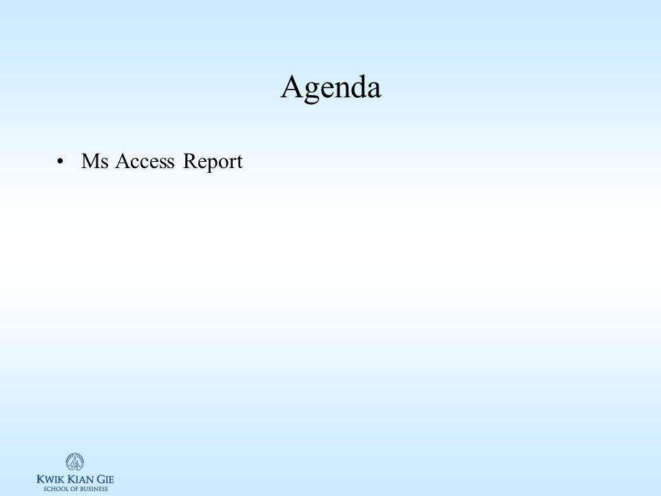 Pengantar TI (MKK103S) Minggu 13 Page 1 MINGGU 13 Pengantar TI (MKK103S) Pokok Bahasan: –Ms. Access Report Tujuan Instruksional Khusus: –
